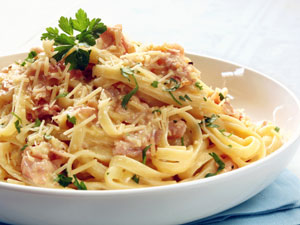 Delicious Fettuccine Carbonara Recipe