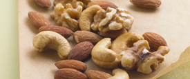 Nuts are a great source of meat-free protein