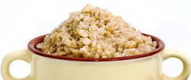Oatmeal is a great source of meat-free protein