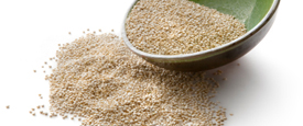 Quinoa is an excellent source of meat-free protein