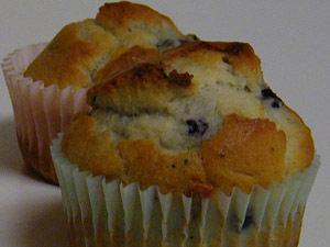 Blueberry muffin recipe